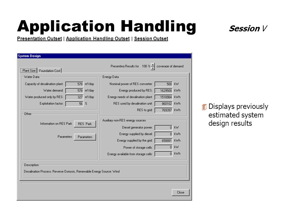 Application Handling Session V Presentation Outset | Application Handling Outset | Session Outset Presentation OutsetApplication Handling OutsetSessio