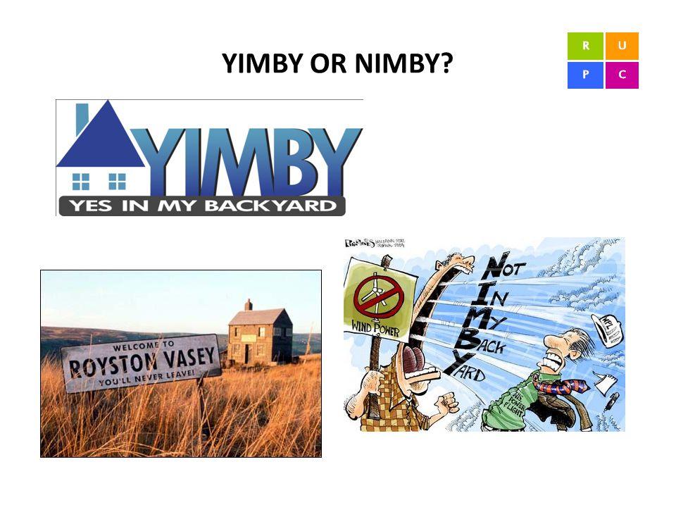 YIMBY OR NIMBY