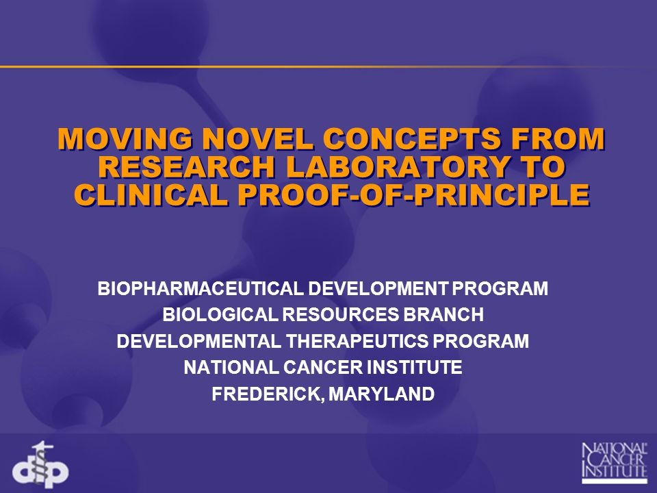 Mission To produce clinical-grade biopharmaceuticals under current Good Manufacturing Practices (cGMPs) appropriate for Phase I/II (dose-ranging safety and efficacy) and proof of principle clinical trials of innovative biopharmaceutical concepts.