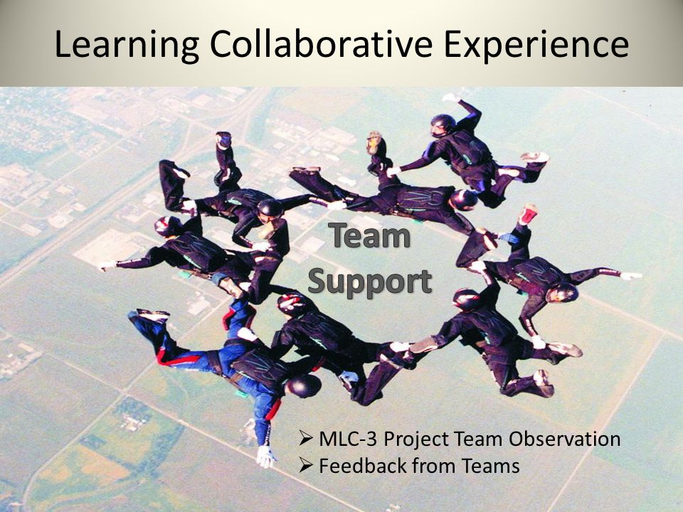 Learning Collaborative Experience  MLC-3 Project Team Observation  Feedback from Teams