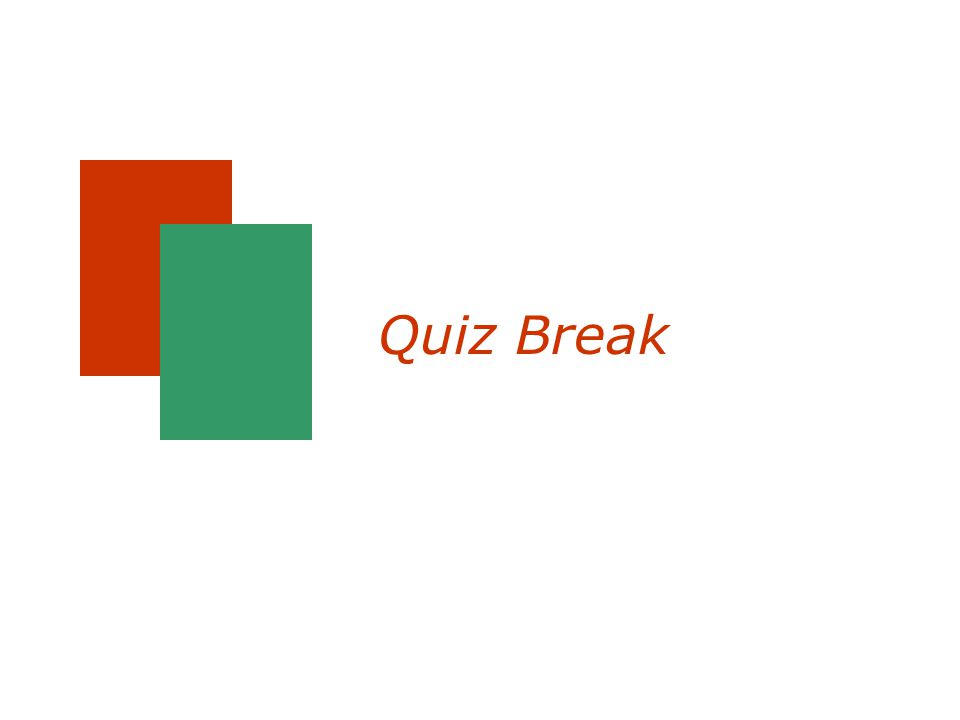 Quiz Break