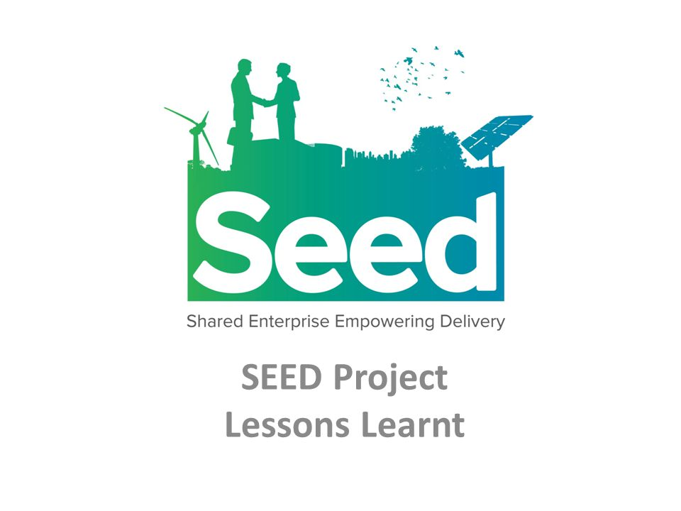 SEED Project Lessons Learnt