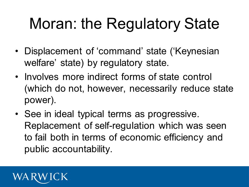 What is Regulatory Innovation.Part of the 'reinventing government' debate.