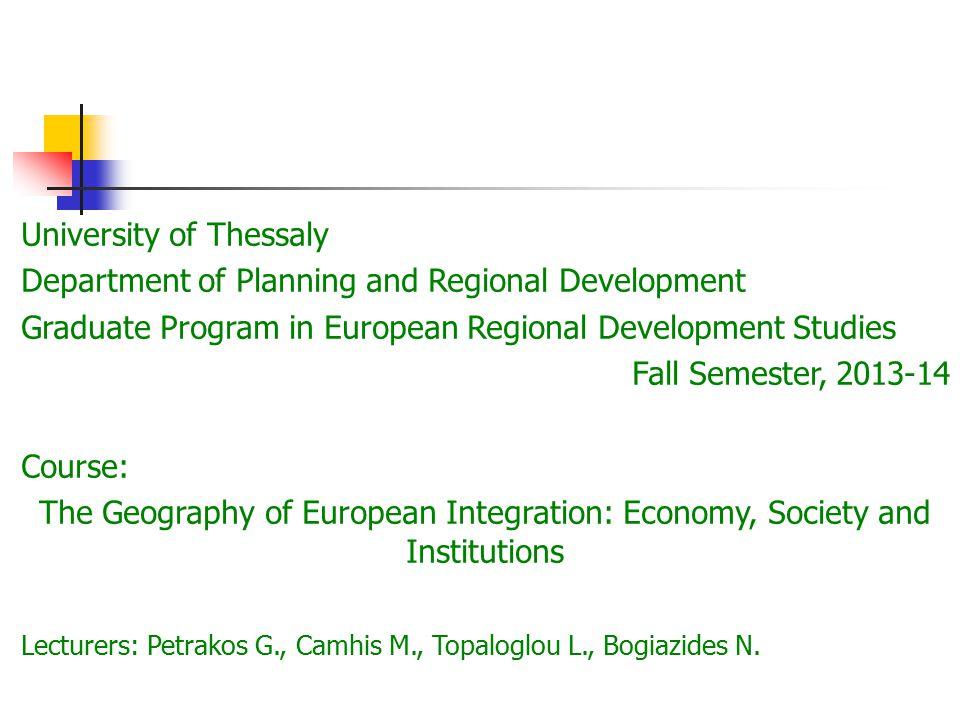 European Politics Wherefore European Politics Institutional convergence or divergence.