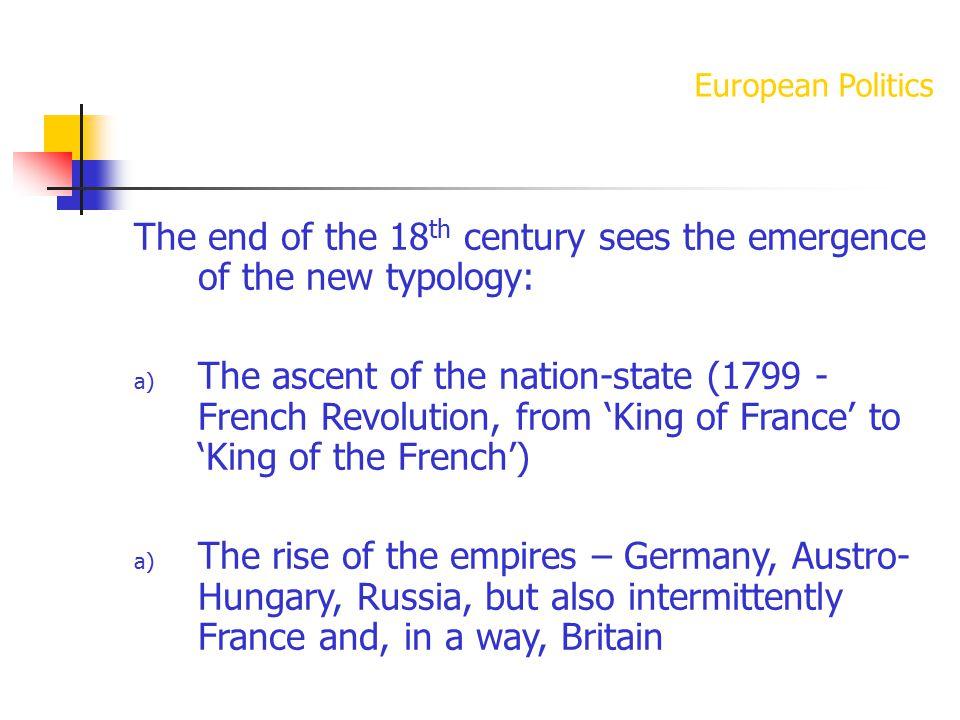 European Politics Switzerland – the Fractal State Belgium – the Dual State