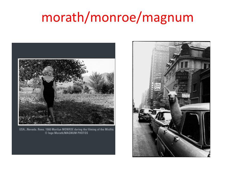 morath/monroe/magnum