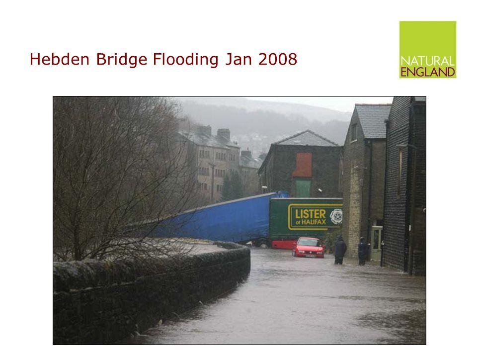 Hebden Bridge Flooding Jan 2008
