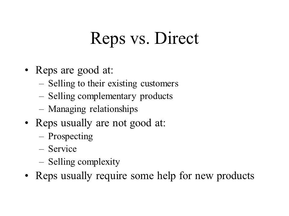 Reps vs.