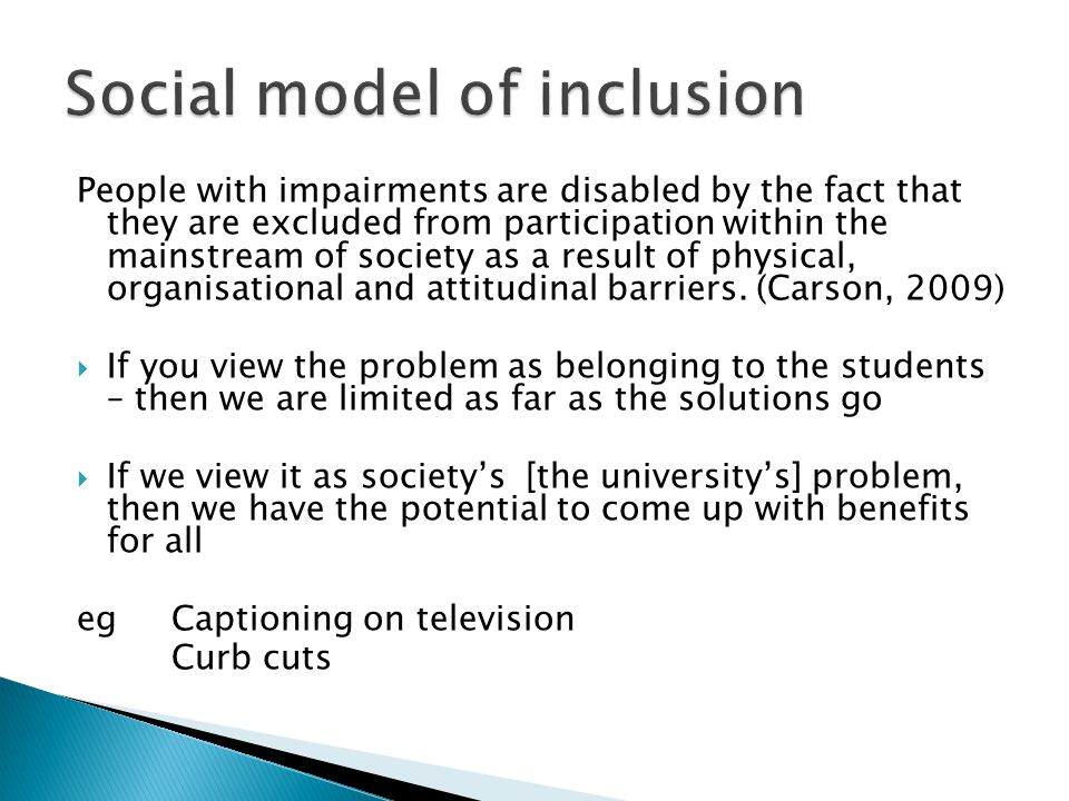 How can we be inclusive.