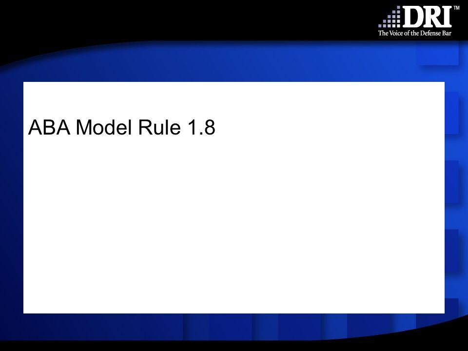 ABA Model Rule 1.8
