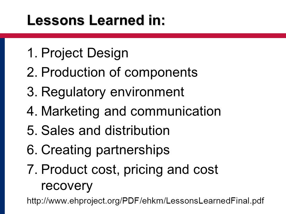 Key Challenges Focus on programs, not just technologies or products Achieving/demonstrating scale with multiple products and strategies Developing measures of programmatic effectiveness, cost-effectiveness, and cost-benefit for priority strategies