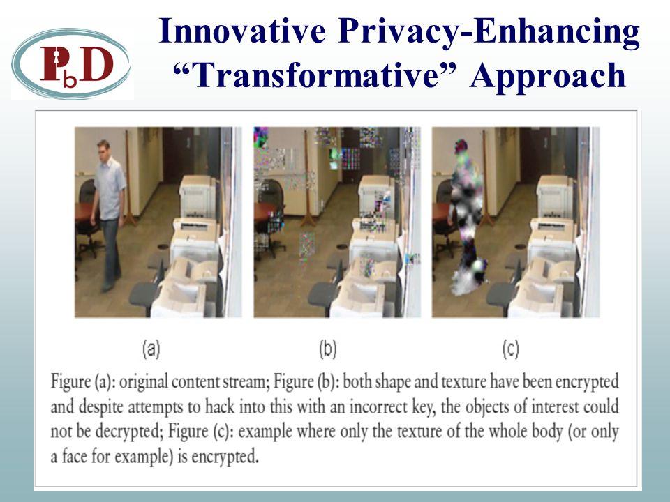 "Innovative Privacy-Enhancing ""Transformative"" Approach"