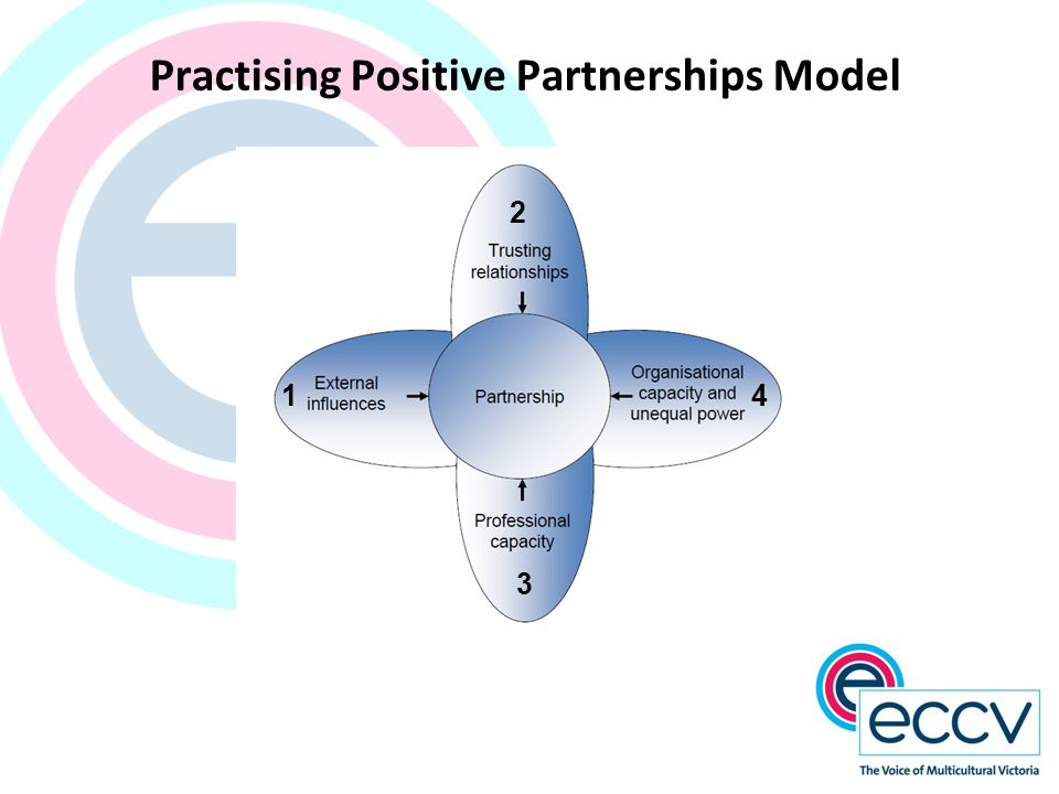 Practising Positive Partnerships Model 1 2 3 4