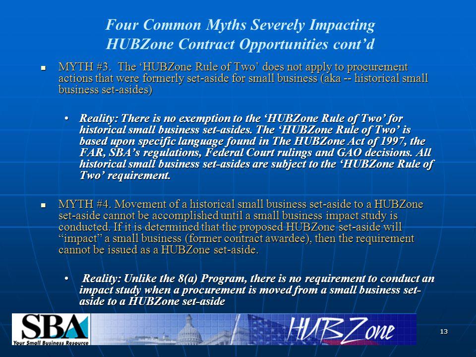 13 MYTH #3.