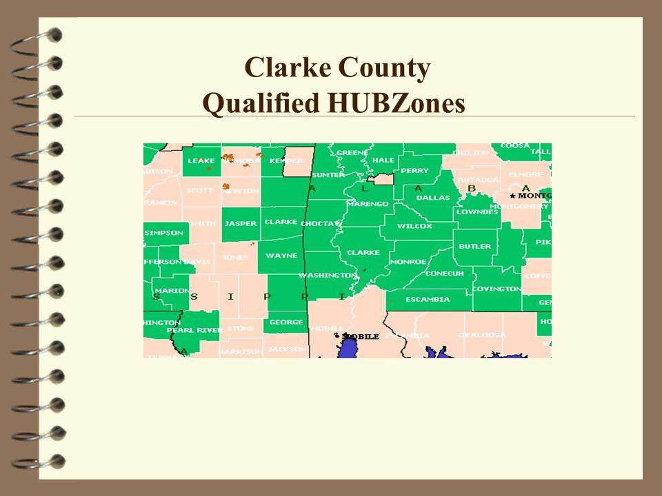 Clarke County Qualified HUBZones