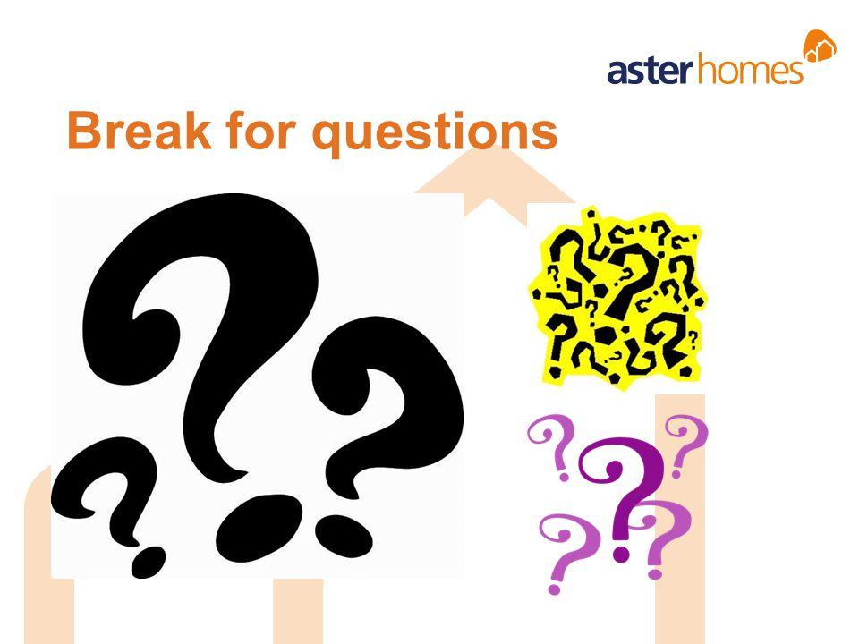 Break for questions