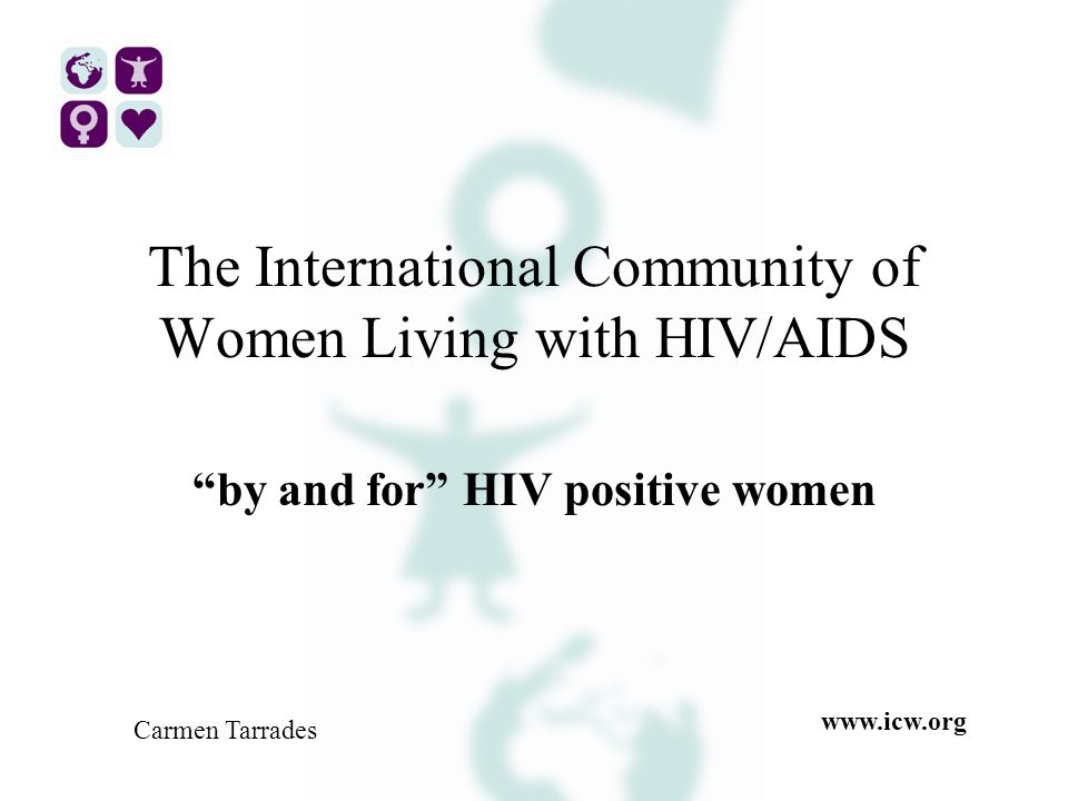 Introduction About ICWAbout ICW Why specific human rights issues for women Living with HIV and AIDS?Why specific human rights issues for women Living with HIV and AIDS.