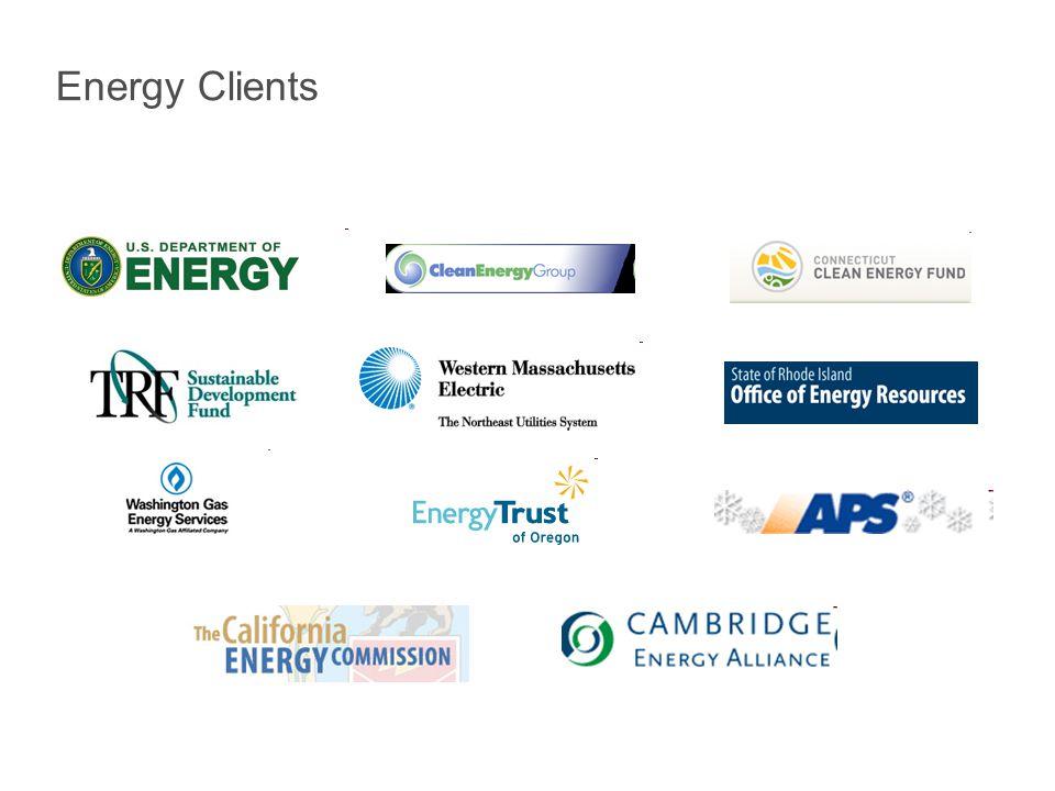 Energy Clients
