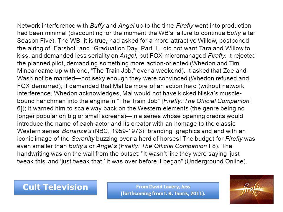 Hoban Wash Washburne (Alan Tudyk) Introduced by B. J. Keeton Cult Television