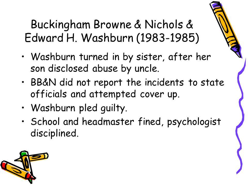 Buckingham Browne & Nichols & Edward H.
