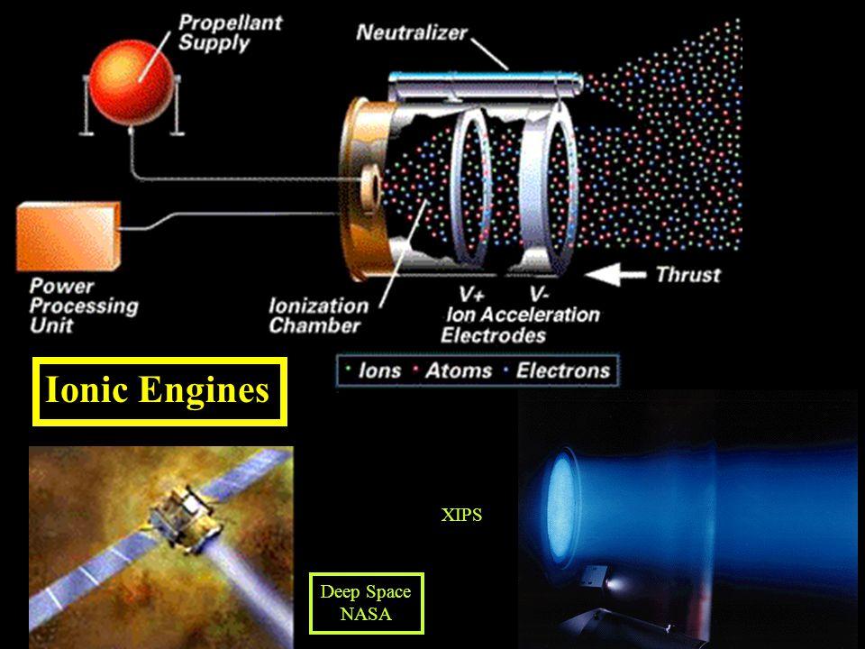 Ionic Engines Deep Space NASA XIPS