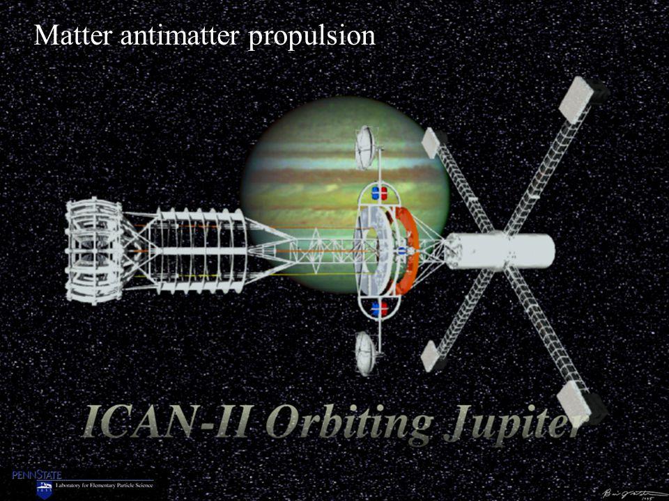 Matter antimatter propulsion