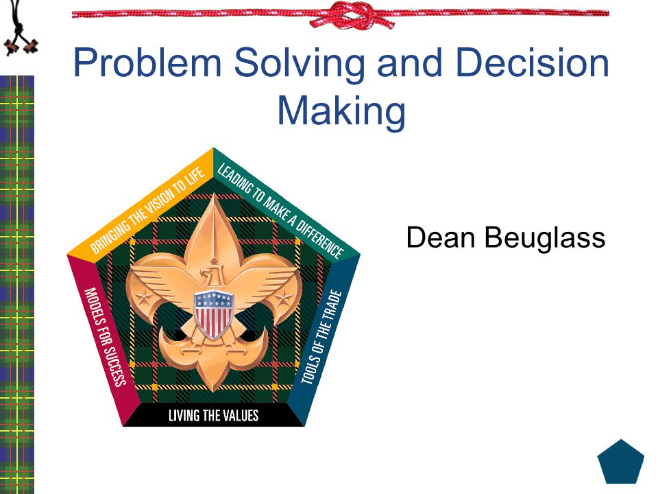 Objectives Understand the relationship between problem solving and project management Learn five steps that help you to analyze a problem Learn a systematic problem-solving process Put into action the skills and ideas you have learned during the course Prepared.