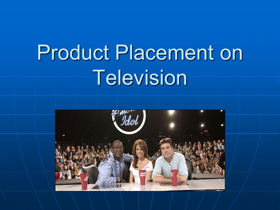 Commercial Alert's Request to the FTC and FCC for Guidelines to Require Disclosure of TV Product Placement Commercial Alert's Request to the FTC and FCC for Guidelines to Require Disclosure of TV Product Placement