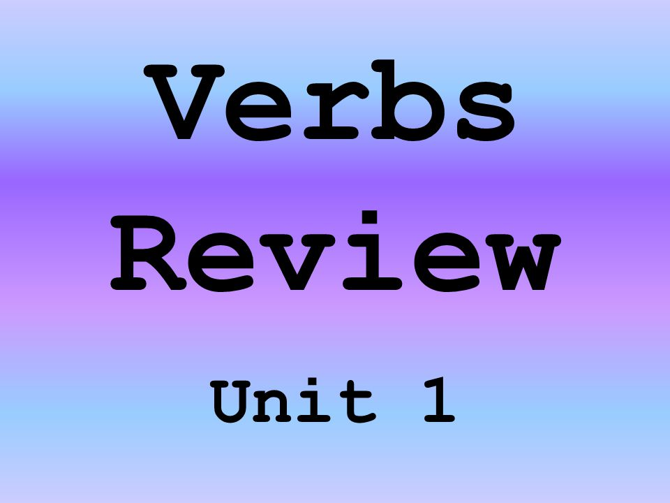 Subject Verb Agreement Select one answer from the choices provided after each sentence.