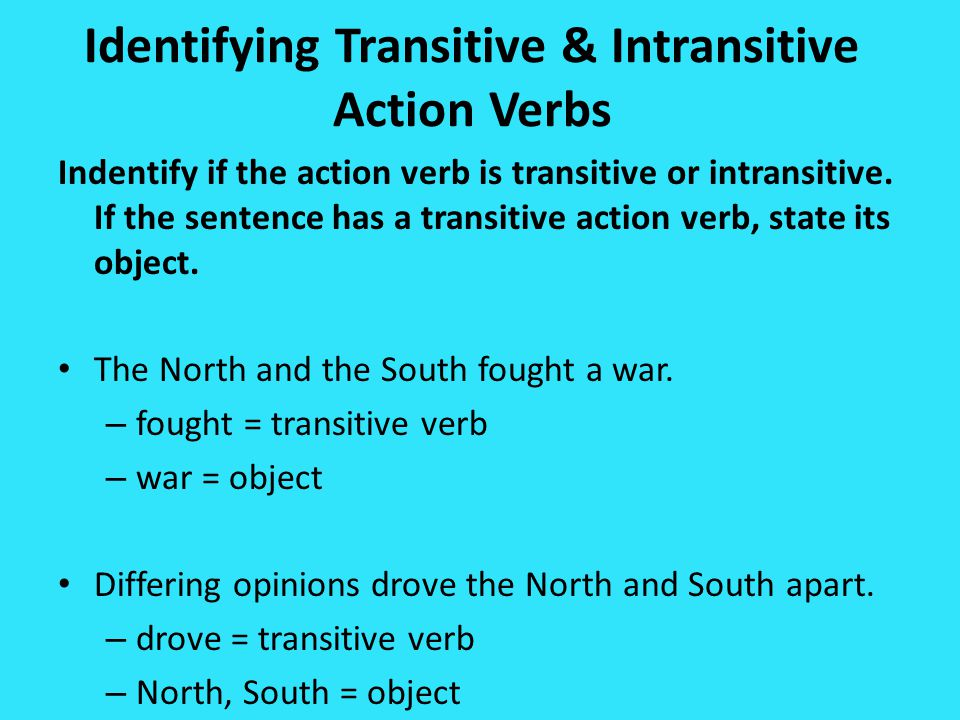 Indentifying Verb Phrases State the complete verb phrase from each sentence below.