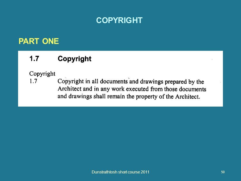 50 Dunstrathtosh short course 2011 COPYRIGHT PART ONE