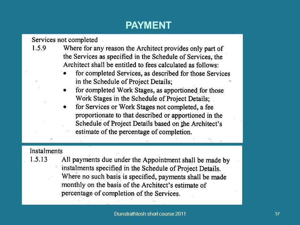 57 Dunstrathtosh short course 2011 PAYMENT