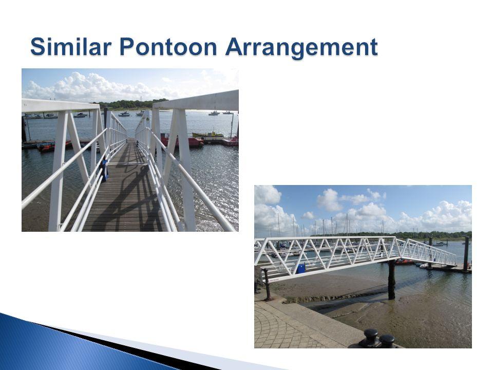 Similar pontoon on Islandmore