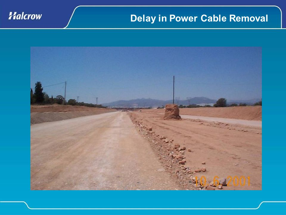 Delay in Power Cable Removal