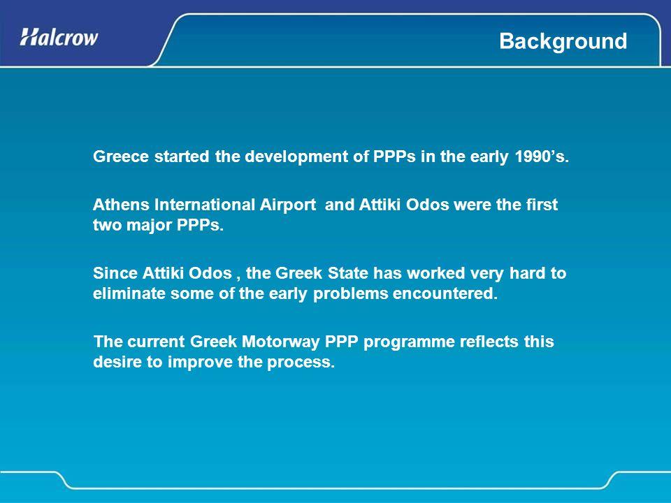 Thessaloniki Tunnel Attiki Odos Greek Road PPPs