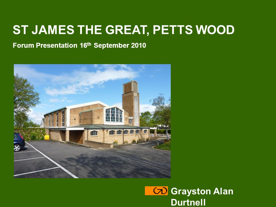 Grayston Alan Durtnell Modify – with Reordering of the Church