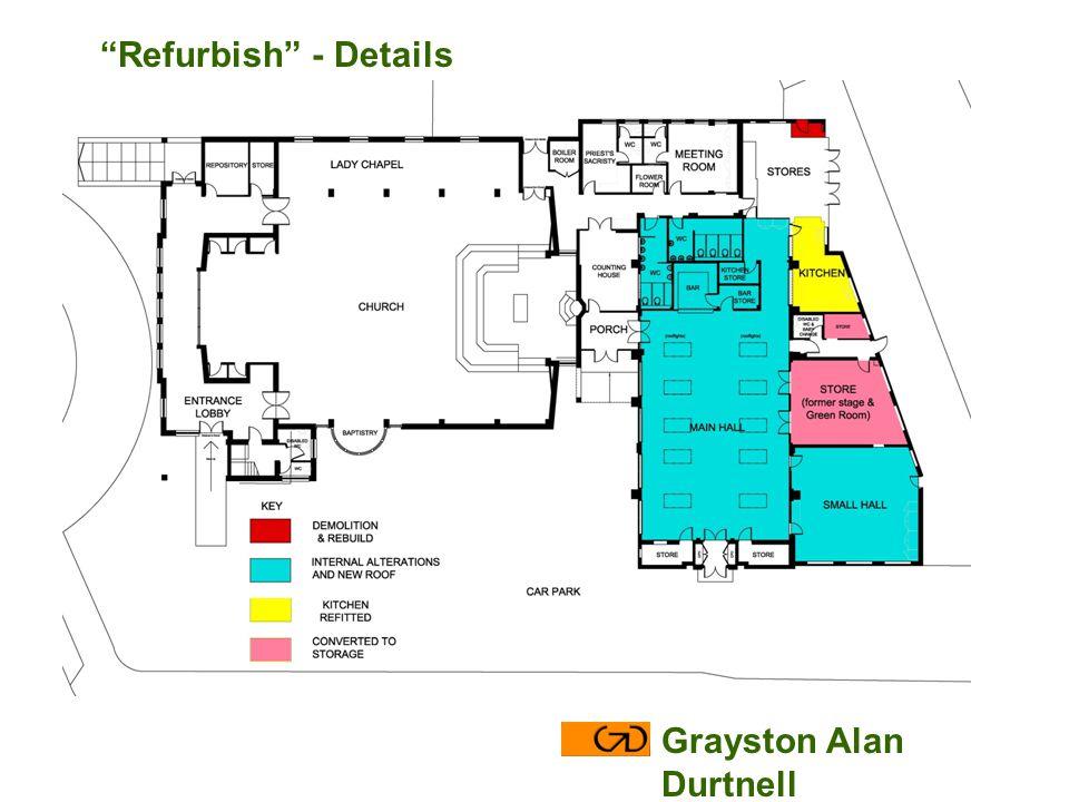 Grayston Alan Durtnell Refurbish - Details