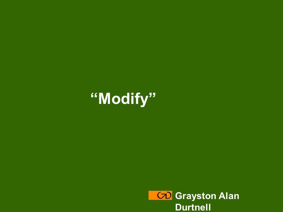 Grayston Alan Durtnell Modify