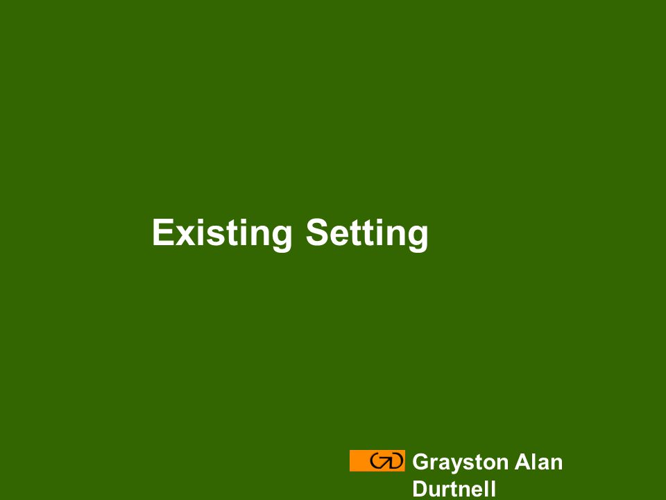 Modify – site layout Grayston Alan Durtnell