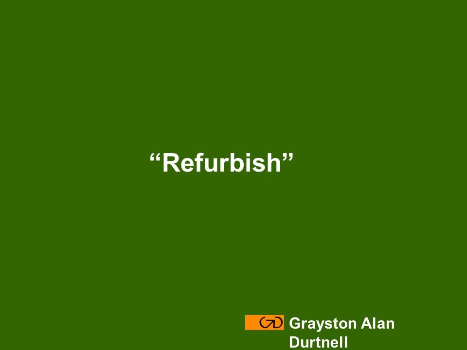 Grayston Alan Durtnell Refurbish