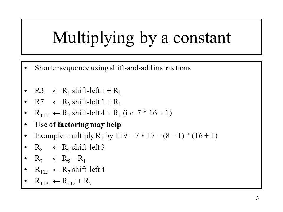 4 Basic Multiplication Equations x =  x i  r i i=0 k-1 p = a  x p = a  x =  x i  r i = = x 0 ar 0 + x 1 a r 1 + x 2 a r 2 + … + x k-1 a r k-1 i=0 k-1