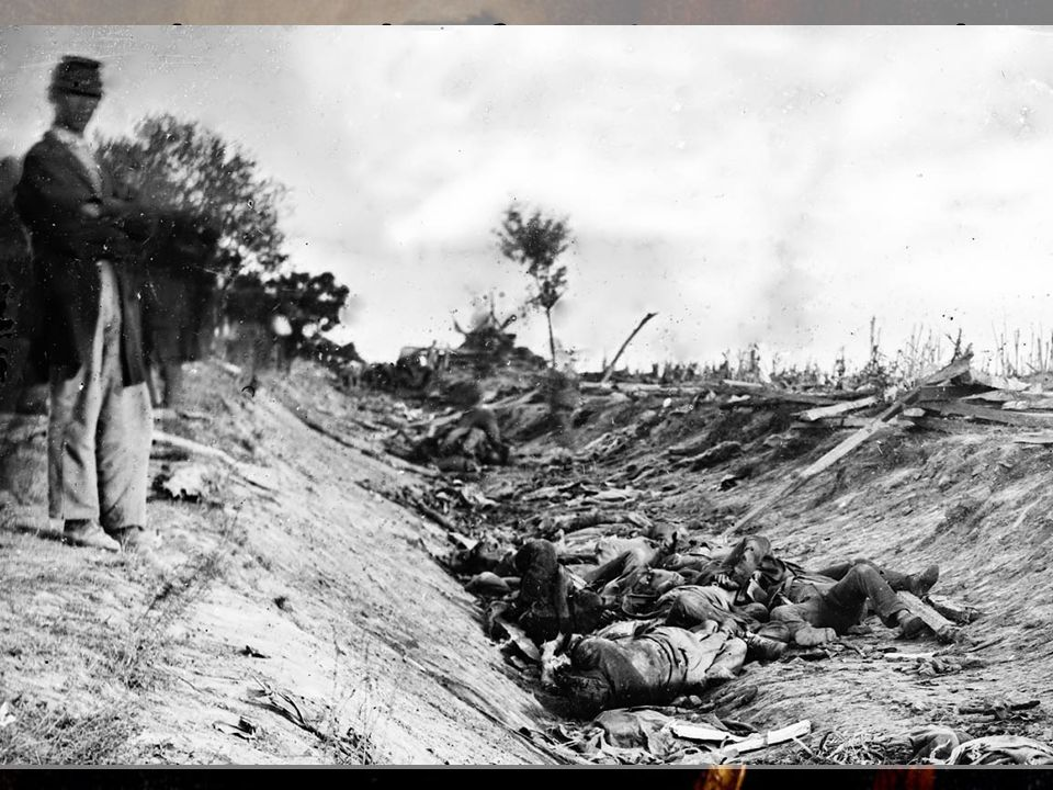 3. The Battle of Antietam stands as the bloodiest single day in American military history. This battle gave an indication of the nature of the Civil W