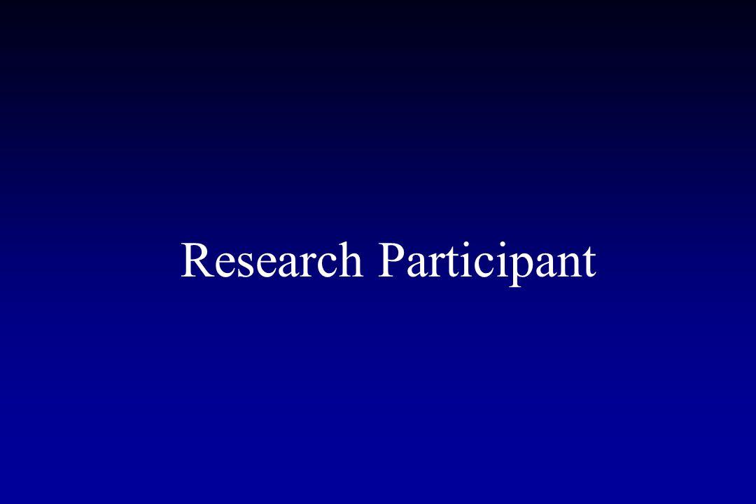 Research Participant