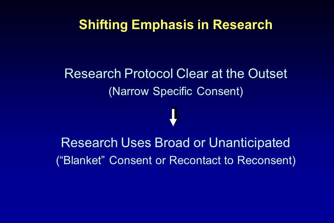Many groups have made recommendations. Researchers and IRBs still confused