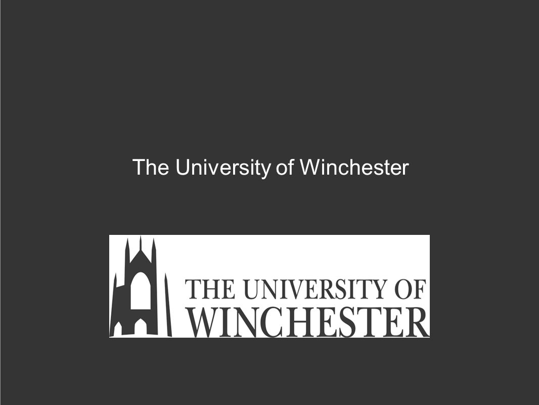 1 Dr Ruth Hellier-Tinoco, Department of Performing Arts, Faculty of Arts Ruth.hellier-tinoco@winchester.ac.uk Ruth.hellier-tinoco@winchester.ac.uk 2 University of Winchester: small institution, former teacher-training college, teaching-led institution, now with major international researchers.