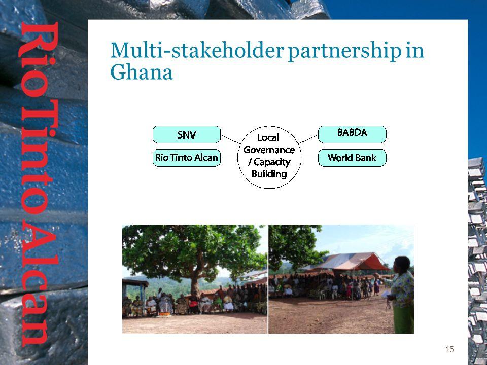 15 Multi-stakeholder partnership in Ghana