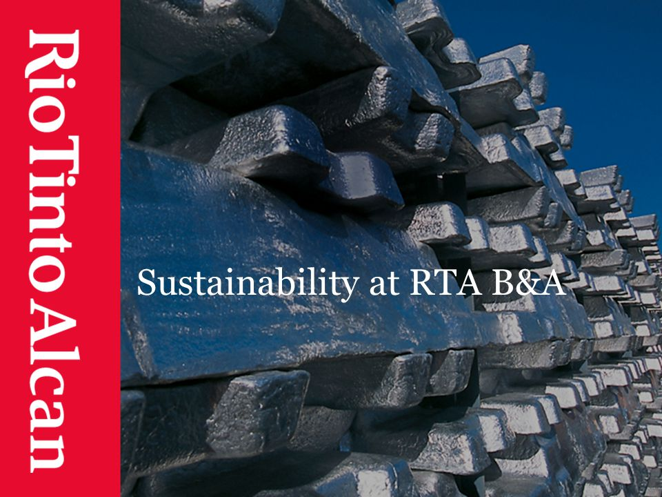 Sustainability at RTA B&A