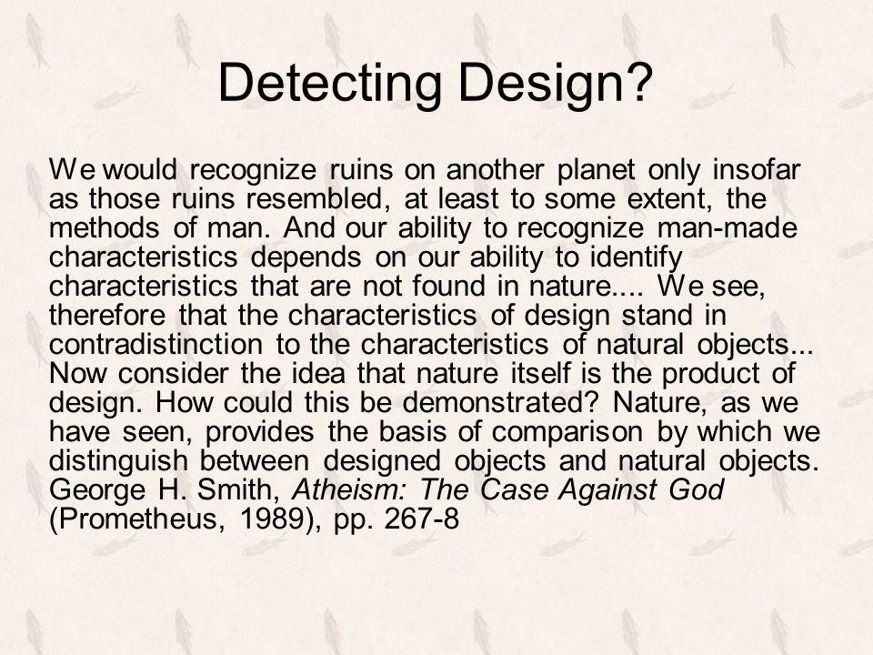 Detecting Design.