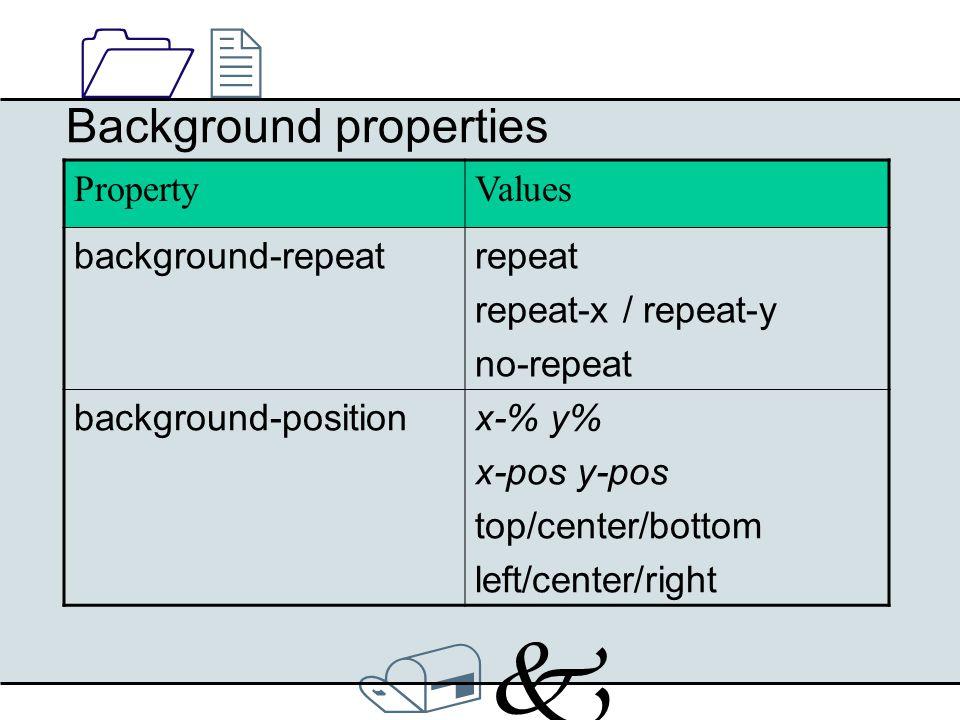 /k/k 1212 Border properties Up to four values possible: black border-color:blue