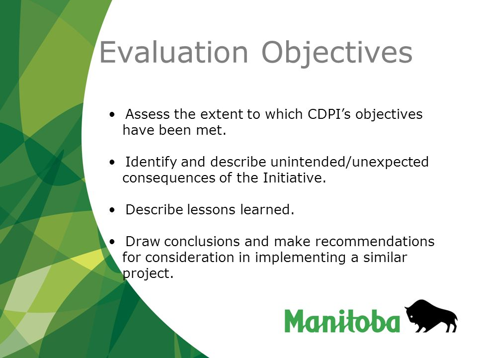 Recommendations for Moving CDP Forward in Manitoba Programming and Participation Transportation (the lack of or onerous aspects in securing it in a timely fashion) is turning out to be a significant barrier to improving the health of individuals in rural and remote communities.
